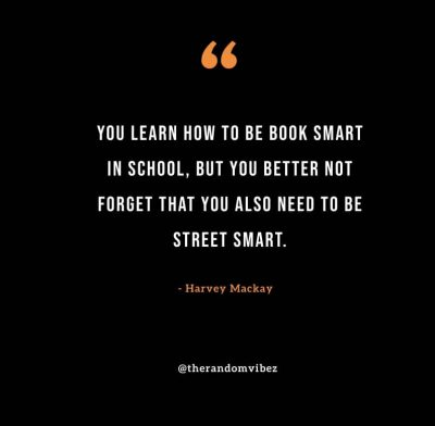 Quotes About Being Street Smart
