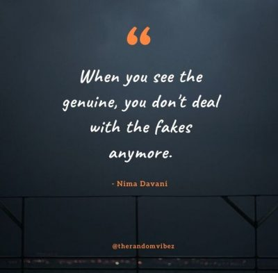 Quotes About Genuine People