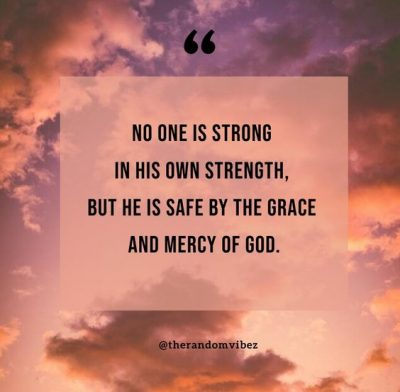 Quotes About God's Mercy