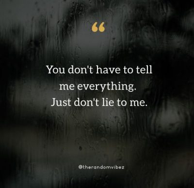 Quotes About Lying Girlfriend