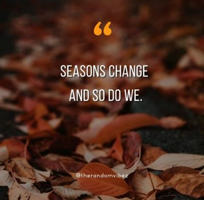 Quotes About Seasons Of Life