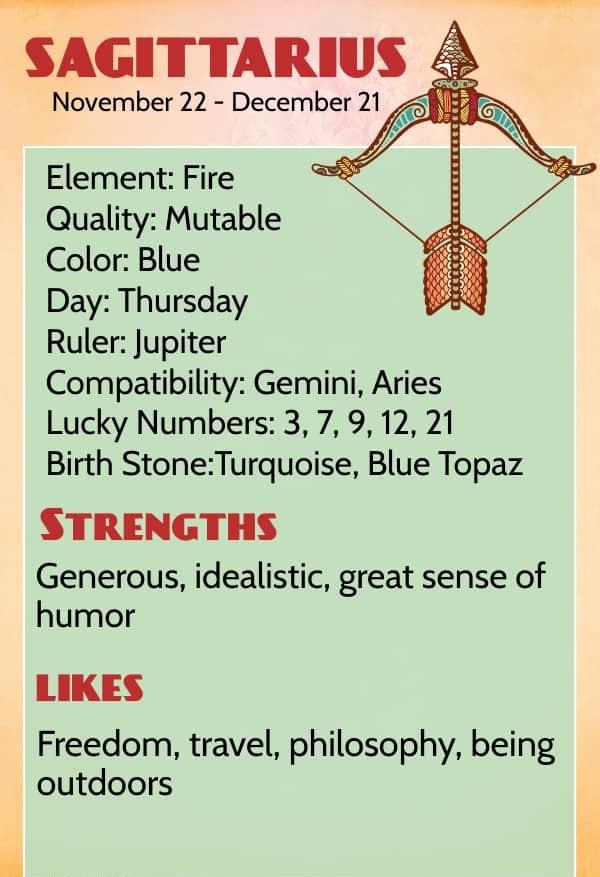 Likes woman you sagittarius signs What Is