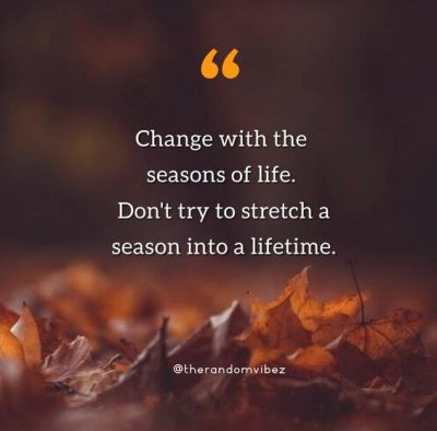 Seasons Of Life Quotes Images