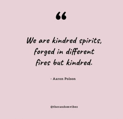 Soulmate Kindred Spirit Quotes