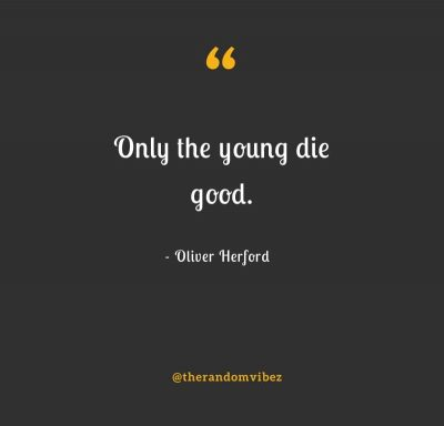 Young Death Quotes