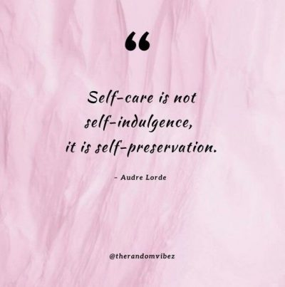 Audre Lorde Self Care Quote