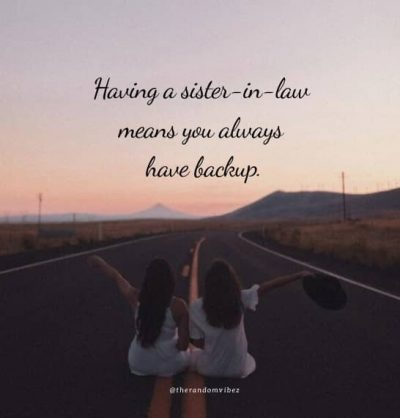 Best Quotes For Sister In Law