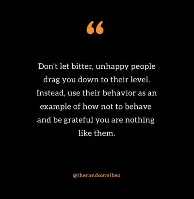 Bitter People Quotes Images