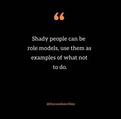 Funny Shady People Quotes