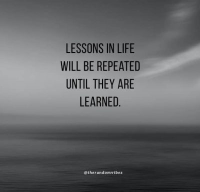 Lessons Learned Quotes Images