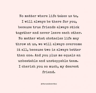 Long Friendship Quotes Cry