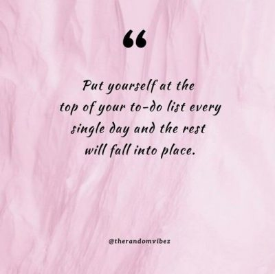 Positive Self Care Quotes