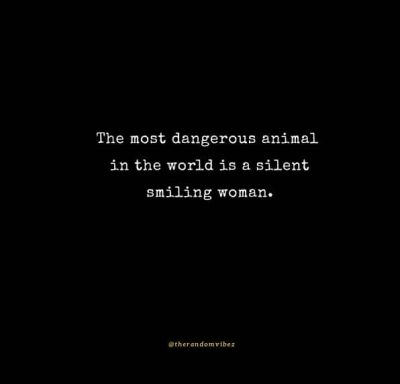 Powerful Woman Silence Quotes
