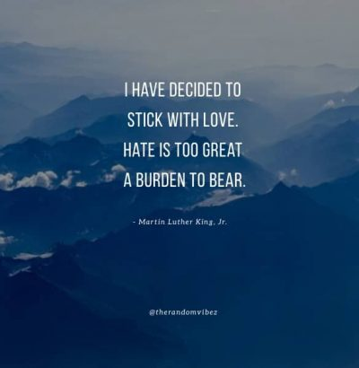 Quotes About Love Over Hate