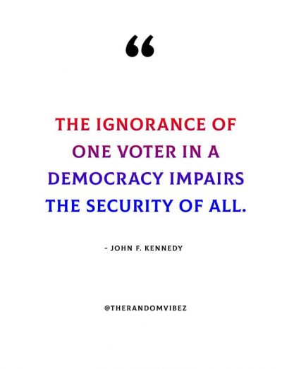 Quotes About Voting Elections