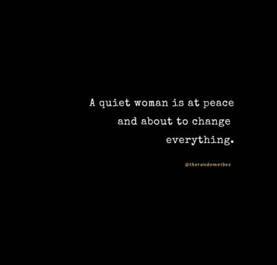 Quotes About Woman's Silence