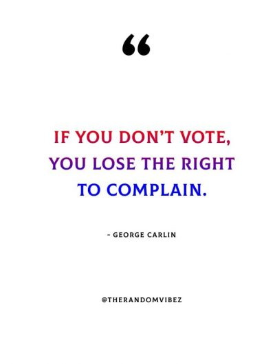 Quotes That Will Inspire You To Vote