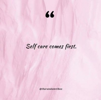 Self Care Quotes Images