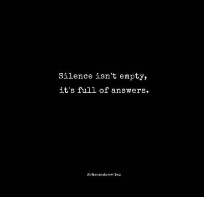 Silent Woman Quotes