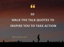 50 Walk the Talk Quotes And Sayings