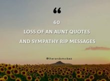 60 Loss Of An Aunt Quotes And Sympathy RIP Messages
