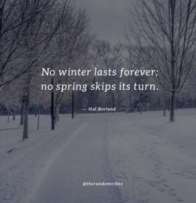 Cold Weather Quotes Images