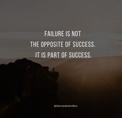 Failure And Success Quotes