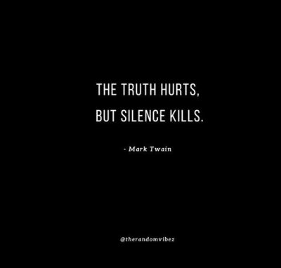 Famous Truth Hurts Quotes