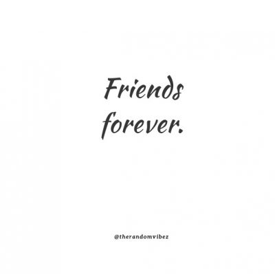 Friendship Two Word Quotes