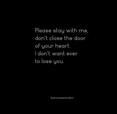 I Don't Want To Lose You Love Quotes