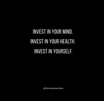 Invest In Yourself Sayings