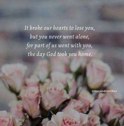 Quotes About Aunt Passing Away