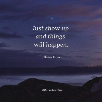 Show Up Quotes