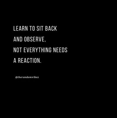 Sit Back And Watch Quotes Images