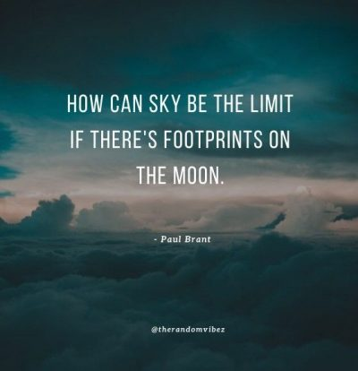 Sky Is The Limit Success Quotes