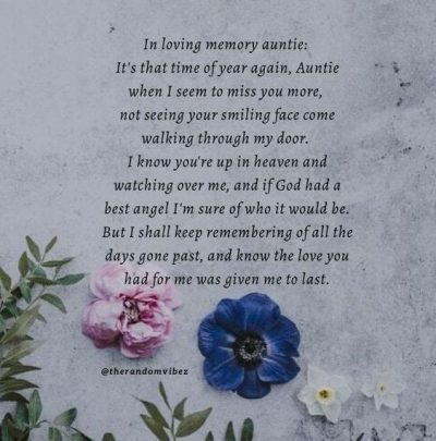 Sweet RIP Quotes and Messages for Aunty