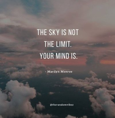 The Sky Is Your Limit Images