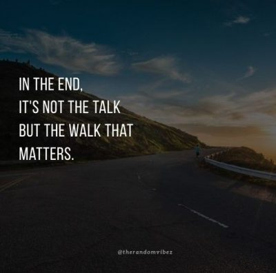 Walk The Talk Daily Quotes