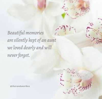 message to my aunt who passed away