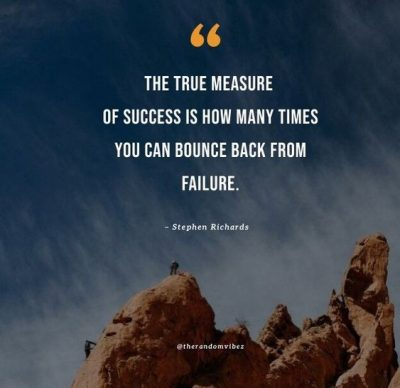 Bounce Back From Defeat Quotes