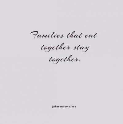 Family Dinner Quotes Images