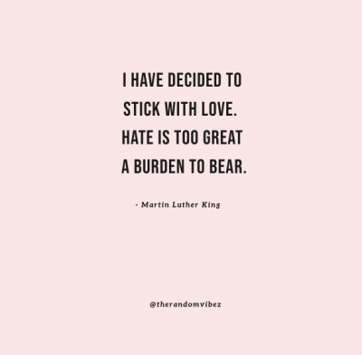 I choose love quote mlk