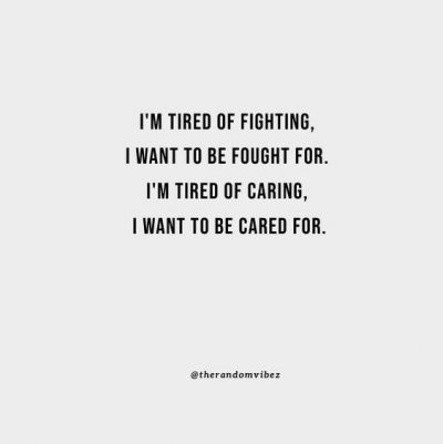 I want someone to fight for me quotes