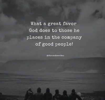Keep Great Company Quotes