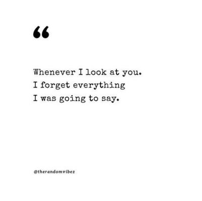 Looking At You Quotes Love
