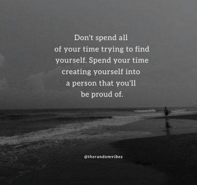 Lost Finding Yourself Quotes