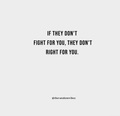 Love Fight For Me Quotes