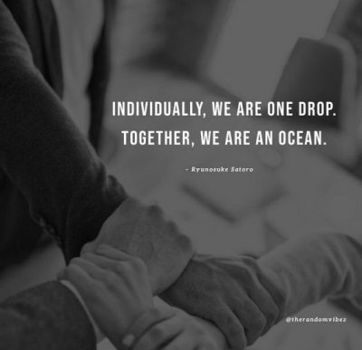 Motivational Quotes for Working Together
