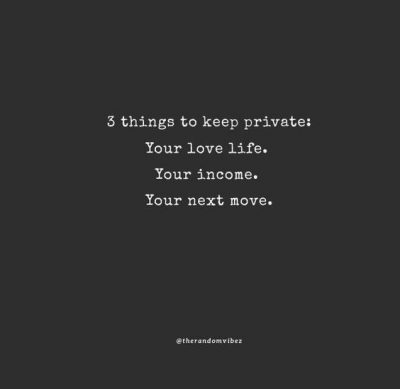 Private Lives Quotes