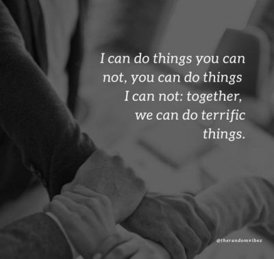Quotes About Couple Working Together